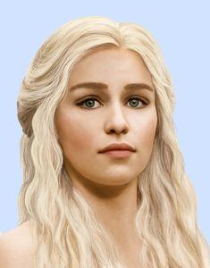 Daenerys Targaryen by CelieJanC on DeviantArt Daenerys Targaryen #DaenerysTargaryen #WhiteWalkersGOT #WhiteWalkersNET