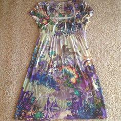 s-dvanásť Šaty - Flower letné šaty.