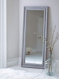 Not equally as an ornamental component of room that has a visual element, the mirror needs to additionally consider the features, and also particularly the effects of its installation. Window Mirror, Floor Mirror, Mirror Video, Double Mirror, Small Mirrors, Mirrored Furniture, Diy Flooring, Modern Farmhouse Style, Industrial Interiors