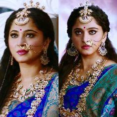 Bahubali 2, Bahubali Movie, Prabhas And Anushka, Actress Anushka, Ethnic Outfits, Inspirational Celebrities, Stunningly Beautiful, India Fashion, Timeless Beauty