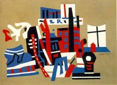 Stuart Davis 1894-1964 ~ Abstract painter