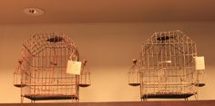 These #Antique #Bird #Cages are truly a #unique find. #Imported from #India, you can find these #conversation pieces at #NestFurniture for $169!   #Design #interiodesign #accent #birdcage #Chicago #Chicagodesign #cultural #metal #900MichiganAvenue
