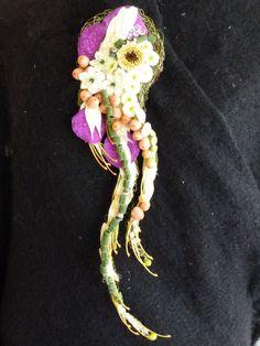 Broche florale.CFA Blagnac (France).