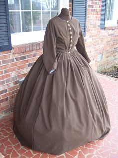 Civil War Reenactment Dress