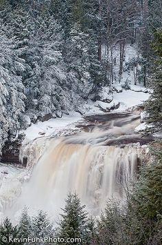 Blackwater Falls - Blackwater Falls State Park - West Virginia