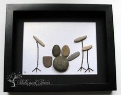 Pebble Art Drum Kit Music Teacher Gift Unique by SticksnStone