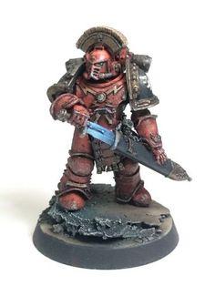 Heresy Blood Angels Veteran Sergeant