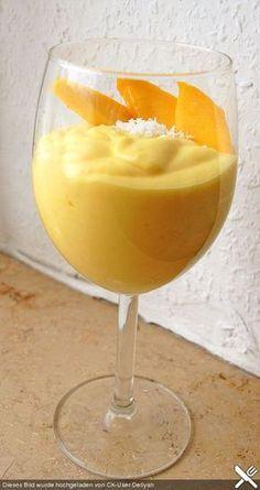 Mango-creme (Ohne Zitrone)