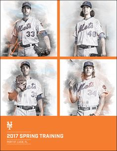 Mets Spring Training Guide Covers on Behance