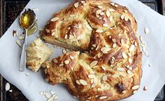 Cannot get over this gorgeous Challah! :: Honey Almond Challah Bread | Epicurean {in} DC