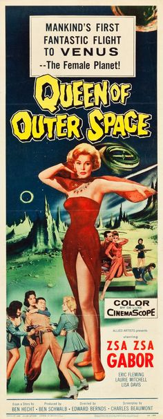 Queen of Outer Space (Allied Artists, 1958)