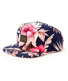 Obey Tropics Floral Snapback Hat at Zumiez : PDP