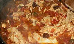 Chicken in Tomato & Caper Sauce