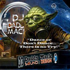 DJ Daddy Mack loves working on  photoshop