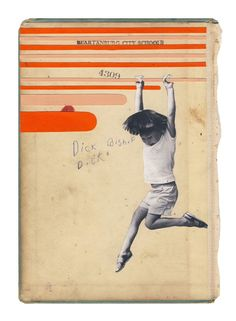 Image of Spartanburg City Schools - original collage on book cover...Hollie Chastain.