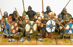 Tom Weiss - Crusaderminiatures Saxons