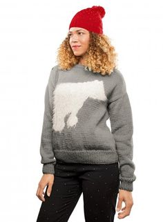 Wooling Issue 2 - #04 Round neck intarsia sweater