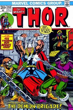 Thor #213.   #Thor  Auction your comics on www.comicbazaar.co.uk