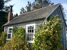 E.B. White's House in Maine -- Photo credit: MiraPtacin