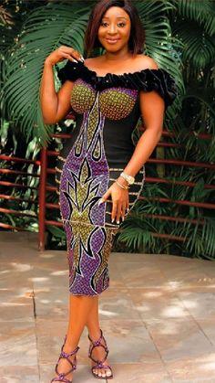 Nigerian Lace Styles Dress, Best African Dresses, Ankara Dress Styles, Latest African Fashion Dresses, African Print Dresses, African Print Fashion, African Attire, Ankara Fashion, Blouse Styles