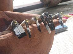 Tools used for the traditional tatau (tattooing) #tattoocare #molotattoocare