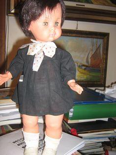 CARLETTO FURGA SCOLARO IN VINILE VERSIONE GRANDE.IN TASCA HA LA MERENDA    Giocattoli e modellismo, Bambole e accessori, Bambolotti e accessori   eBay!