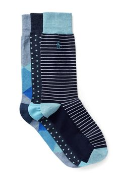 37ecfa33eb31a Assorted Crew Socks Box Set - Pack of 3 by Original Penguin on  @nordstrom_rack Penguins. Nordstrom Rack