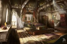 Helgas Room Concept by Lastsiren.deviantart.com on @DeviantArt