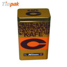 Rectangular Custom Airtight Coffee Tin Boxes. http://www.tinpak.us/Products/CustomAirtightCoffeeTinBoxes.html