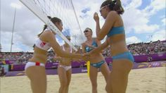 Beach Volleyball Women's Round of 16 – Spain v Italy Full Replay – London 2012 Olympic Games Beach Volleyball, World Of Sports, Olympic Games, Olympics, Bikinis, Swimwear, Spain, Italy, In This Moment