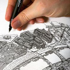 Le Grand Palais. Now onto Des Champs Élysées🇫🇷 🖋 🎨#Jeff_Murray_Art #Art #Arts #Artist #Artists #Artisan #Drawing #Sketch #Illustration… Grand Palais, Arts, Arm Warmers, Illustration, Drawings, Artworks, Instagram, Painting, Painting Art