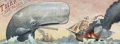 """Derek Nobbs Detail from """"The Whale's Revenge"""""""