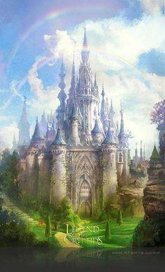 New Ideas Fantasy Art Inspiration Palaces Fantasy Magic, Fantasy City, Fantasy Castle, Fantasy Places, Fantasy Kunst, Fantasy World, Fantasy Artwork, Fantasy Setting, Fantasy Landscape