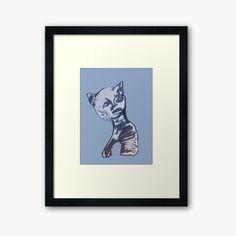 Original Art For Sale, Centerpiece Decorations, Custom Boxes, Framed Art Prints, Egyptian, Fine Art America, Art Drawings, My Arts, Kitty