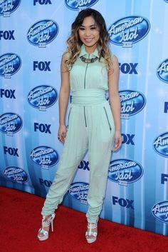 Jessica Sanchez - Arrivals at the 'American Idol' Season Finale