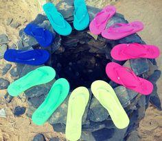 SS16 beach bound x Rio Carnival Flip Flops