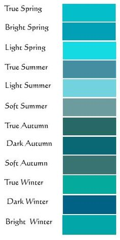 Bright Winter is electric acid turquoise. Fascinating that it only looks that way when worn by another type of colouring. On a Bright Winter, it looks like turquoise. Shades Of Turquoise, Turquoise Color, Teal Colors, Colours, Turquoise Fashion, Light Teal Color, Turquoise Dress, Happy Colors, Teal Blue