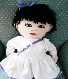 Custom Asian Girl Doll Boy Available Too by Meoneil on Etsy, $45.00