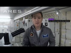 Matt Damon Introduces Us To The Crew Of Ares 3! — TechMASH