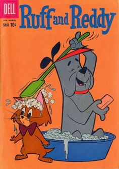 jambo e ruivão -Ruff and Reddy Show, A Hanna-Barbera cartoon Old Comic Books, Comic Books For Sale, Vintage Comic Books, Vintage Cartoon, Comic Book Covers, Vintage Comics, Old School Cartoons, Retro Cartoons, Old Cartoons
