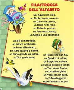 Le più belle filastrocche Learn To Speak Italian, English Short Stories, Italian Vocabulary, Everyday Italian, Italian Lessons, Italian Phrases, Vintage School, Italian Language, Learning Italian