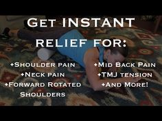Ultimate Chest & Front Deltoid Release - Get INSTANT Relief for Shoulder, Neck & Mid Back Pain - YouTube
