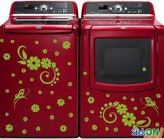 20 Washing Machine Sticker Ideas Washing Machine Vinyl Vinyl Sticker Design