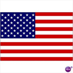 """Giant Stars & Stripes USA Flag 35"""" x 60"""" (89cm x 155cm) - New In Pack Listing in the Banners & Flags,Football (Soccer),Memorabilia & Fan Store,Sport Memorabilia & Cards Category on eBid United Kingdom"""