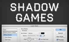 Photoshop Shadow Tricks from Design Shack