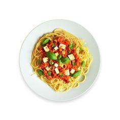 Výborné šišky bez kysnutia - Ľahké receptyĽahké recepty Tofu, Spaghetti, Ethnic Recipes, Hokkaido, Noodle