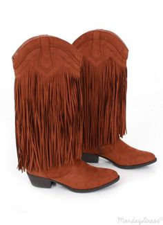 Monday Dress $49.99 Get Fringy With It Boots