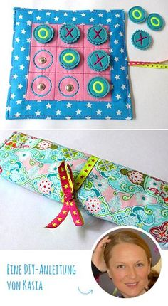 Instructions TicTacToe The post DIY tutorial: TicTacToe game appeared first on Woman Casual. Tic Tac Toe, Sewing Toys, Sewing Crafts, Sewing Projects, Diy Projects, Sewing Hacks, Fabric Sewing, Sewing Ideas, Sewing For Kids