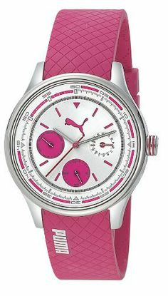 Puma Wheel Chrono - S Pink Women's watch #PU102742002 PUMA. $70.00. Puma Pu102742002 Wheel Chrono Silver Pink Watch. Save 46%!