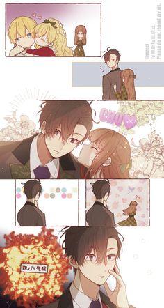 Anime W, Otaku Anime, Anime Art Girl, Kawaii Anime, Anime Guys, L Dk Manga, Manga Love, Manga Art, Jumin X Mc